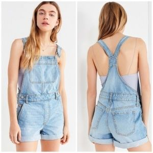NWT Urban Outfitters BDG denim overall shorts 28